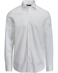 Ralph Lauren Purple Label - Bond Tailored Dress Shirt - Lyst