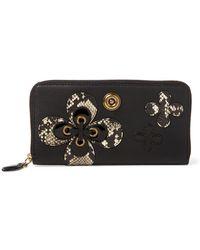 Ralph Lauren - Geo Leather Zip Wallet - Lyst