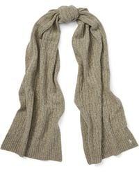 Polo Ralph Lauren - Wool-cashmere Rectangular Scarf - Lyst
