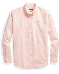 Polo Ralph Lauren - Pink Pony Cotton Button-down - Lyst