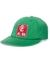 Polo Ralph Lauren - Cp-93 Green Appliquéd Cottton Cap - Lyst