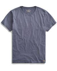RRL - Cotton Jersey Crewneck T-shirt - Lyst