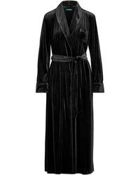 Ralph Lauren - Long Velvet Robe - Lyst