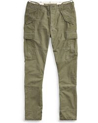 Polo Ralph Lauren - Tapered Cotton Cargo Pant - Lyst