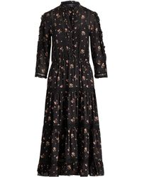 Polo Ralph Lauren - Floral Georgette Dress - Lyst
