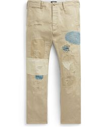 Polo Ralph Lauren - Relaxed Fit Repaired Chino - Lyst
