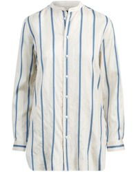 Polo Ralph Lauren - Striped Silk Button-down Shirt - Lyst