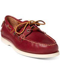f9016aac1d922 Lyst - Polo Ralph Lauren Men s Bienne Ii Boat Shoes in Black for Men