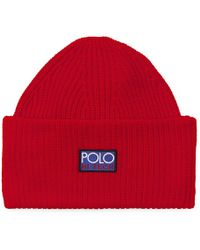 Polo Ralph Lauren Tropical Mesh Trucker Hat in Blue - Lyst 0f0f80b3b169