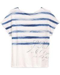 Ralph Lauren - Linen Short-sleeve Top - Lyst