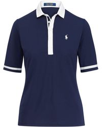 Ralph Lauren Golf | Tailored Fit Mesh Polo Shirt | Lyst