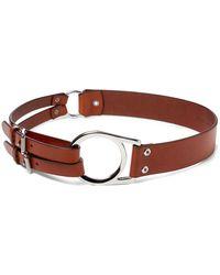 Ralph Lauren - Leather Tri-strap Belt - Lyst