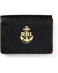 RRL - Capeskin Card Wallet - Lyst