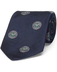 Polo Ralph Lauren - Wimbledon Silk Repp Tie - Lyst
