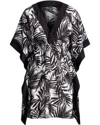 Ralph Lauren - Palm-print Voile Cover-up - Lyst