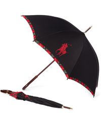 Polo Ralph Lauren - Steward Plaid Umbrella - Lyst