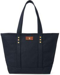 Polo Ralph Lauren - Canvas Tote Bag - Lyst