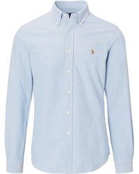 Polo Ralph Lauren | Slim Fit Cotton Oxford Shirt | Lyst