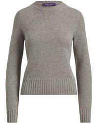 Ralph Lauren - Saddle Crewneck Sweater - Lyst