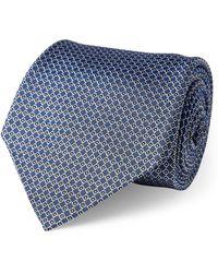 Ralph Lauren Purple Label - Diamond-woven Silk Tie - Lyst