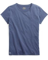 Polo Ralph Lauren - Cotton Crewneck T-shirt - Lyst
