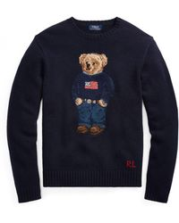 Pink Pony - The Iconic Polo Bear Sweater - Lyst