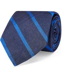 Polo Ralph Lauren - Striped Silk Repp Narrow Tie - Lyst