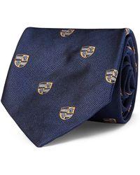 Polo Ralph Lauren - Silk Narrow Club Tie - Lyst