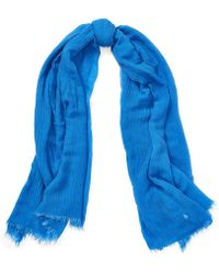 Polo Ralph Lauren - Lightly Frayed Oblong Scarf - Lyst