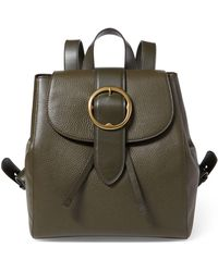 Polo Ralph Lauren - Pebbled Leather Backpack - Lyst