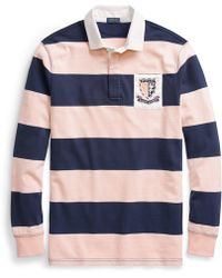 Polo Ralph Lauren - Pink Pony Jersey Rugby Shirt - Lyst