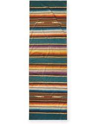 RRL - Serape-print Cotton Scarf - Lyst