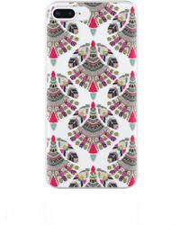 Rebecca Minkoff - Fan Print Case For Iphone 8 Plus & Iphone 7 Plus - Lyst