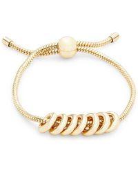 Rebecca Minkoff - Rings Slider Bracelet - Lyst