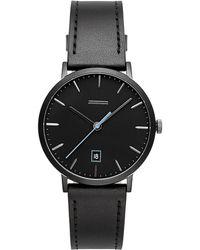Rebecca Minkoff - Norrebro Black Tone Bracelet Watch, 40mm - Lyst
