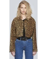 RE/DONE - Originals Cropped Jacket - Lyst