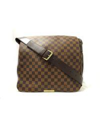 Louis Vuitton | Bastille Shoulder Crossbody Bag Ebene Damier Canvas N45258 | Lyst