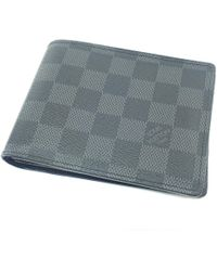 Louis Vuitton - Damier Canvas Bifold Wallet With Coin Pocket N63074 Portefeiulle · Florin - Lyst