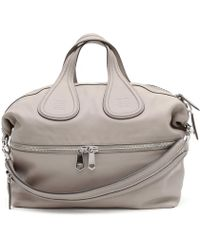 Givenchy | Nightingale Bag Large Model In Pink Beige Leather | Lyst