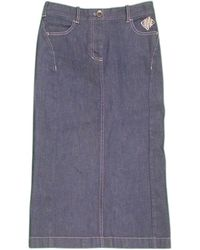 Céline | Skirt Denim Ladies Used C2512 | Lyst