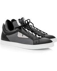 f7b078d5c9df Lyst - Fendi Bag Bugs Hi-top Sneakers in Black for Men