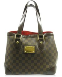 Louis Vuitton - Auth Hampstead Pm Tote Bag N51205 Damier Used Vintage - Lyst