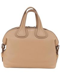 Givenchy | Nightingale Small Bag In Calfskin With Handles And Removable Shoulder Strap | Lyst