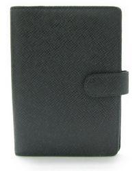 Louis Vuitton - Taiga Agenda Pm Day Planner Cover R20426 - Lyst