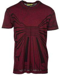 7835c8e6 Versace - Jeans Men's Short Sleeve T-shirt Crew Neckline Jumper Nuovo  B3gra72c Burgundy -