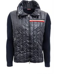 Moncler - Maglia Tricot Cardigan - Lyst