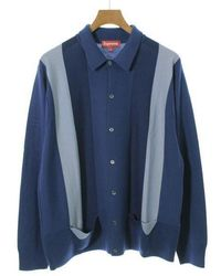 Supreme | Cardigan Blue Xl | Lyst