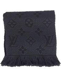 Louis Vuitton - Muffler Echarpe Logomania Anthracite M72431[brand New][authentic] - Lyst