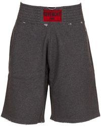 Givenchy - Shorts Grigio - Lyst