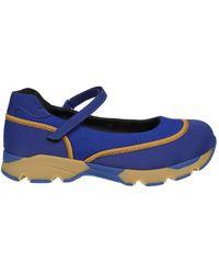 Marni - Women's Snzw000103tcr8600b59 Blue Fabric Slip On Sneakers - Lyst